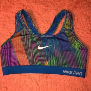Nike Pro Multi-Color Sports Bra